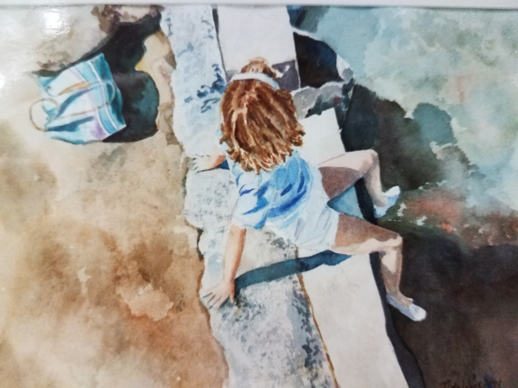 Nancy - watercolor, private collection